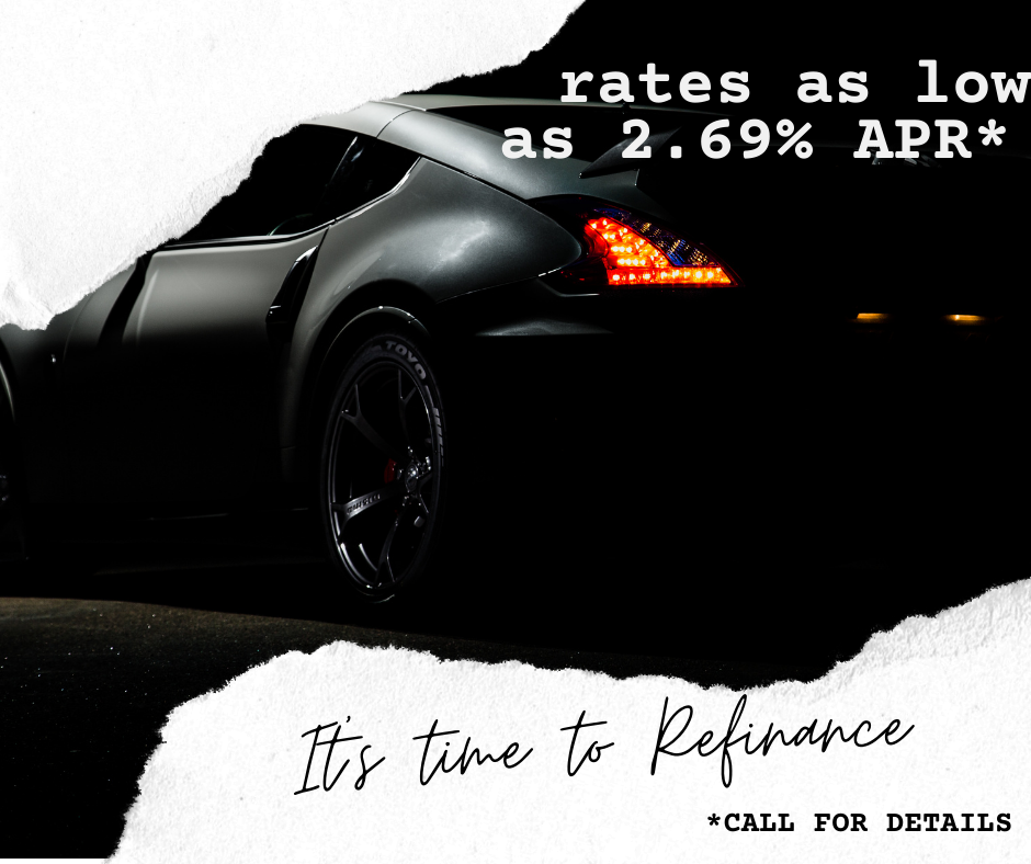 Rates as low as 2.69% APR