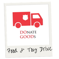Salvation Army Donate Goods Logo